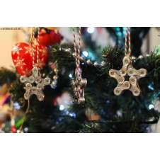 Mountain Bike Chain Christmas Decoration