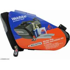 Weldtite Wedge Bag Repair + Inflator Kit